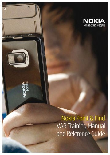 Nokia Point & Find VAR Training Manual and Reference ... - e.Times