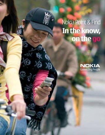 Nokia Point & Find Brochure