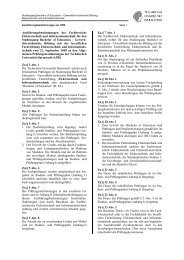 Ausführungsbestimmungen - Fachbereich Elektrotechnik und ...