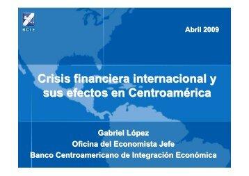 Tendencias & Perspectiva abril 2009 nicaragua - Etimos