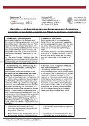 Bewerbung und Zulassung - Fachbereich Elektrotechnik und ...