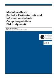 Computergestützte Elektrodynamik - Fachbereich Elektrotechnik ...
