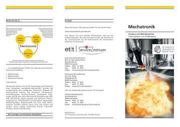 Mechatronik - Fachbereich Elektrotechnik und Informationstechnik