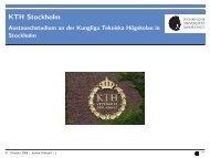 KTH Stockholm
