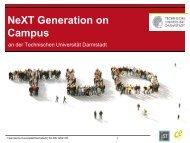 Informationsfolien - Technische Universität Darmstadt