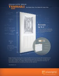 Product Specification Sheet Link - ETO Doors