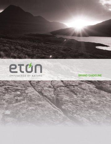 Brand guideline - Eton
