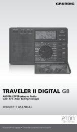 TRAVELER II DIGITAL G8 - Eton