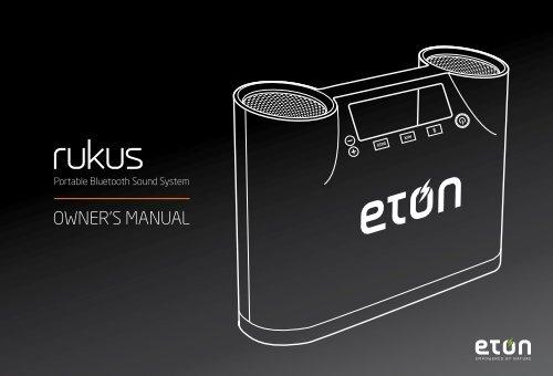owner's manual - Eton