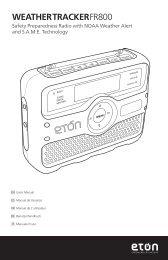 WEATHERTRACKERFR800 - Eton