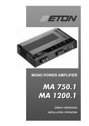 MA 750.1 - Eton GmbH