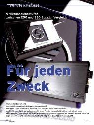 Vergleichstest - Eton GmbH