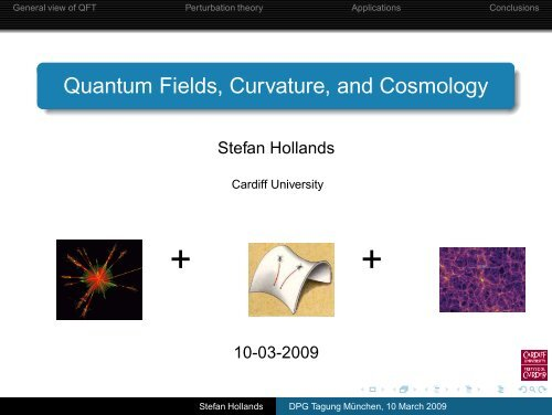 Quantum Fields, Curvature, and Cosmology