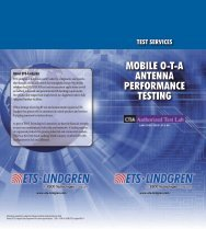 MOBILE O-T-A ANTENNA PERFORMANCE TESTING - ETS-Lindgren
