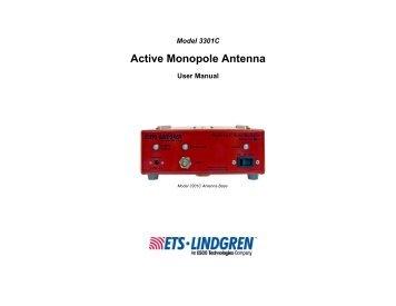 Ets user manuals manuals array model 6502 active loop antenna ets lindgren rh yumpu com fandeluxe Image collections