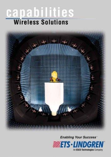 Wireless Capabilities Brochure - ETS-Lindgren