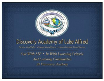 Discovery Academy (PDF) - ETS