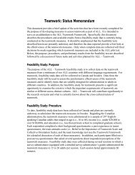 Teamwork Framework - ETS