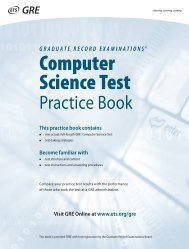 Computer Science Test - ETS
