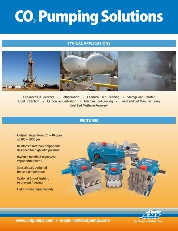 CO2 Pumping Solutions - Zycon