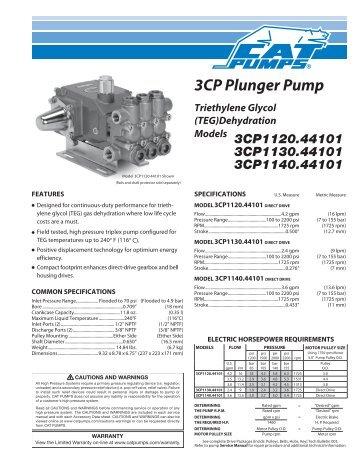 cat pump 3535 service manual