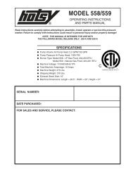 hotsy 558-559_97-6331_0604 - ets company pressure washers