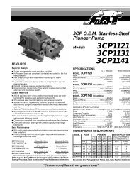 3CP1121 3CP1131 3CP1141 - ETS Company Pressure Washers ...