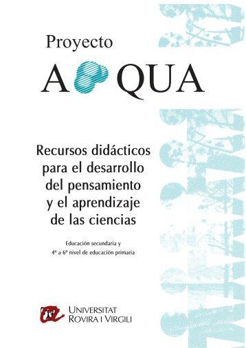 Catálogo de materiales de APQUA - etsEQ - Universitat Rovira i Virgili