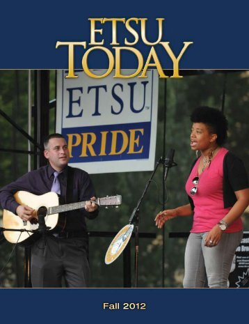 Fall 2012 - East Tennessee State University