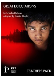 Great Expectations Education Pack - English Touring Theatre
