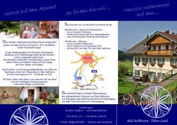 Bad Heilbrunn - auf dem Asenhof