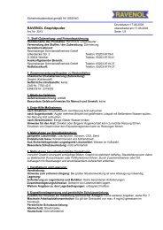 Sicherheitsdatenblatt gemäß 91/155/EWG, §14 ... - Raiffeisen