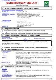 Sicherheitsdatenblatt Multi MKP - Raiffeisen