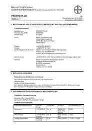 Bayer CropScience - Star Agro Analyse und Handels GmbH
