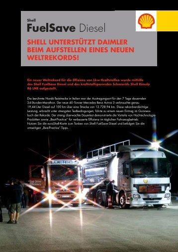 Weltrekord von Daimler
