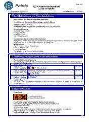 EG-Sicherheitsdatenblatt - Raiffeisen