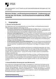Revision Kindes- und Erwachsenenschutzrecht - Gemeinde Ettingen