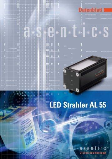 Bestellstruktur Bestellinformation LED Strahler AL 55 - Asentics