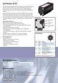 Bestellstruktur Bestellinformation LED Strahler AL 55 - Asentics - Seite 2