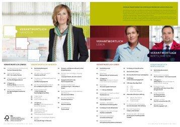 Bericht zum Thema Nachhaltigkeit als Download - Ettlinger Tor ...