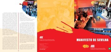 Manifesto de sevilha - ETUC