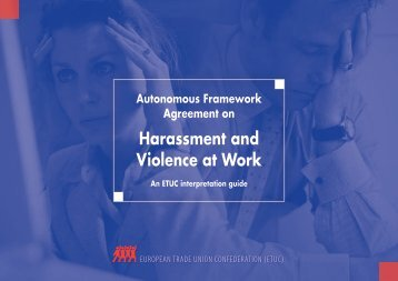 Harassment and Violence at Work - ETUC