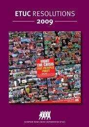 RESOLUTIONS 2009 EN_DEF7.qxd:_ - ETUC