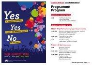 Programme Program - ETUC