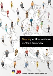 Guida per il lavoratore mobile europeo - ETUC