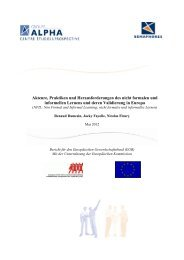 Akteure, Praktiken und Herausforderungen des nicht ... - ETUC