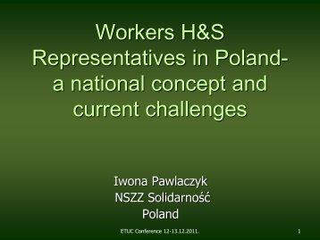 Pawlaczyk - Teachers' Occupational Safety and Health Website