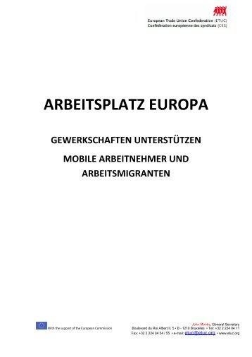WORKPLACE EUROPE - ETUC