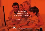 the revised parental leave framework agreement - ETUC