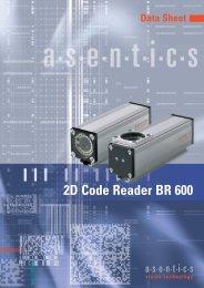 2D Code Reader BR 600 - Asentics